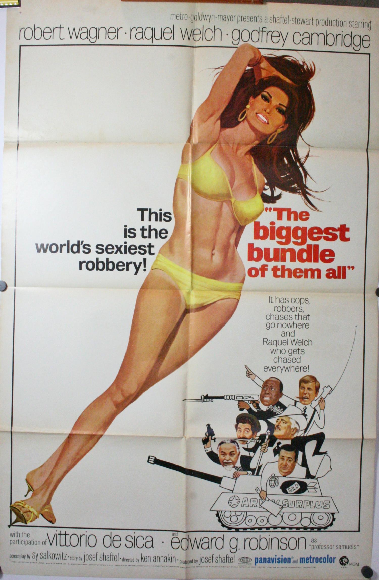 original raquel welch poster