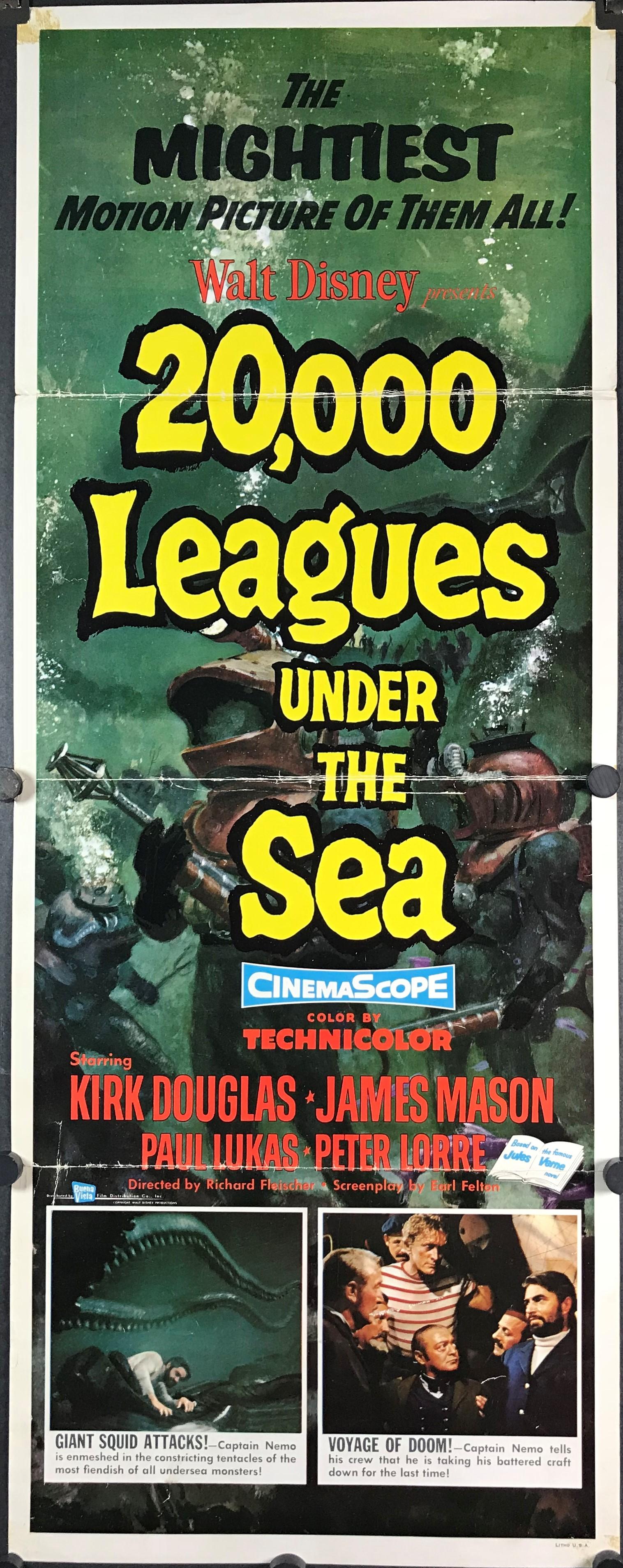20 000 Leagues Under The Sea Original First Release Jules