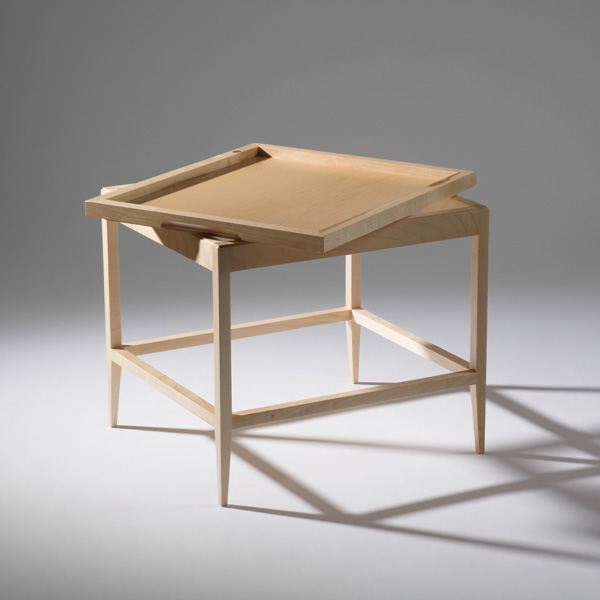 Trayble Butlers Table by Fergal O'Leary