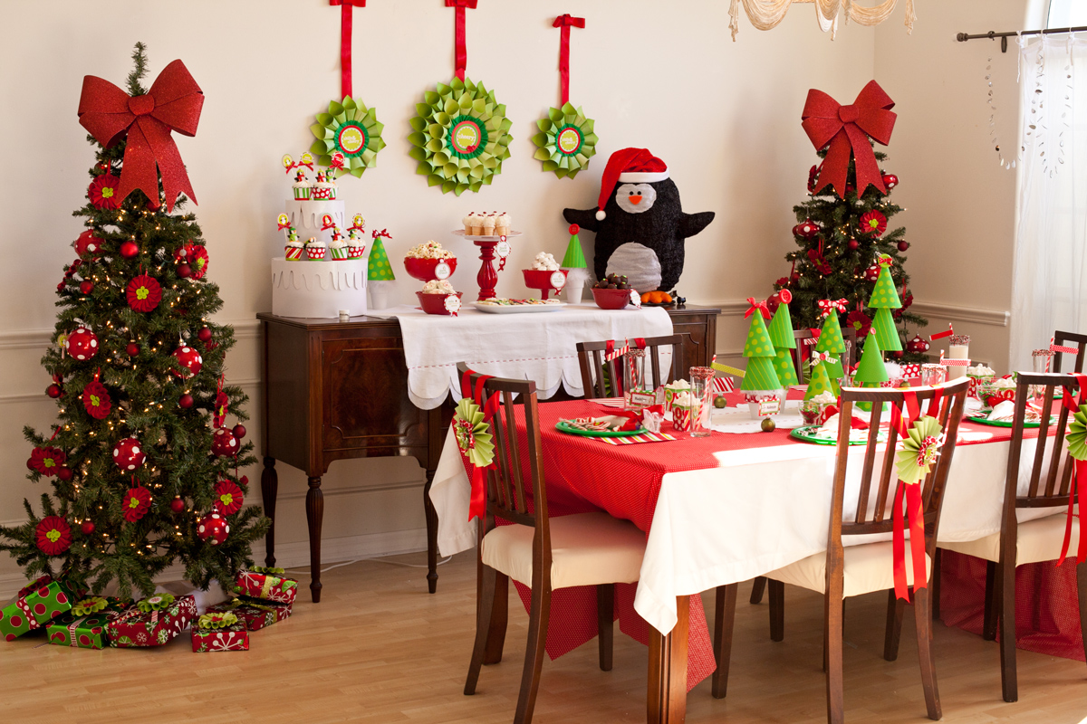 Delightful 25 Christmas Party Decoration Ideas To Keep In Mind Images