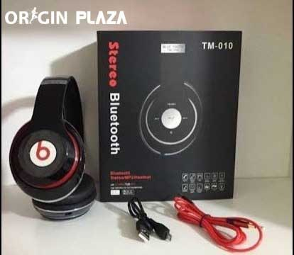 Beats TM-010 Bluetooth Wired & Wireless Headphones With Tf Card/Mic/FM price in bangladesh