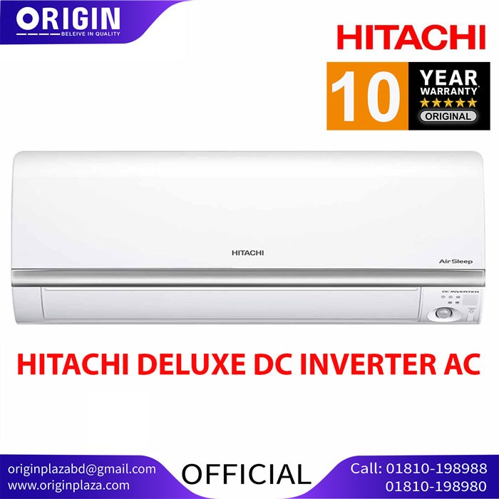 Hitachi 2.0 Ton Deluxe DC Inverter AC