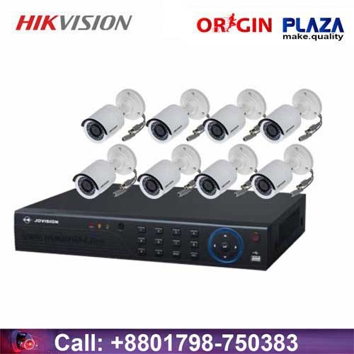 HIKVISION 8 unit security cc camera Package