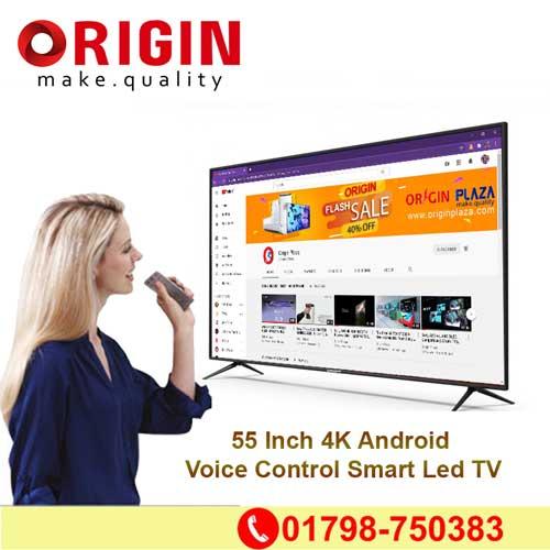 Origin Plaza, origin voice control tv 4K Android led price in Bangladesh