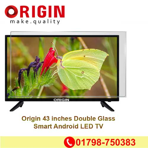 43 inches Double Glass Android TV