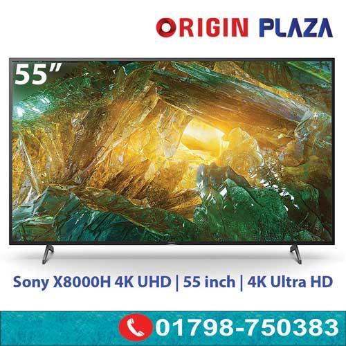 55 inch Sony X8000H 4K UHD