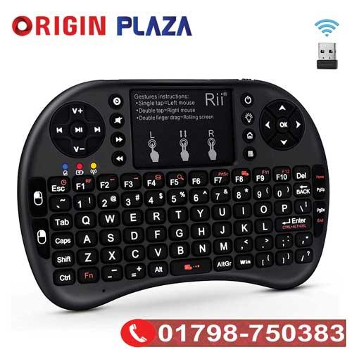 Wireless Backlit Mini Keyboard with Touchpad