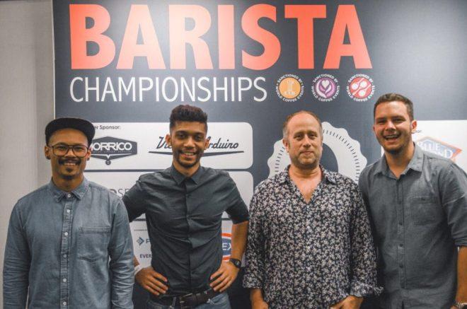 Team Origin at the SA Barista Champs