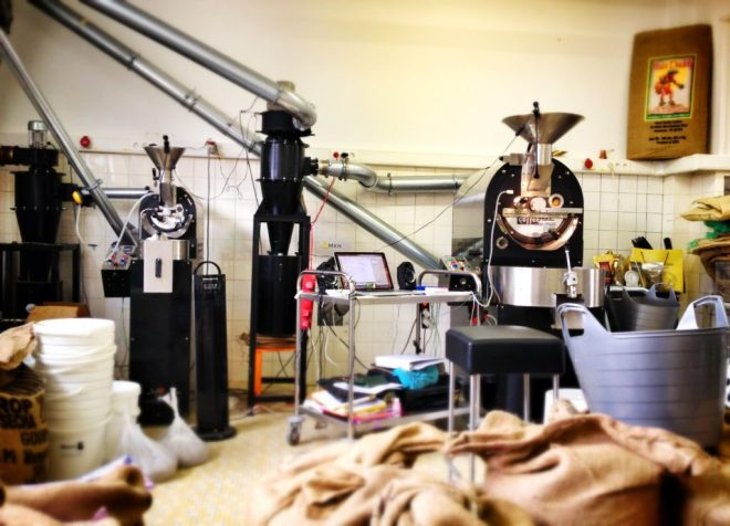 Roastery at Vienna School of Coffee