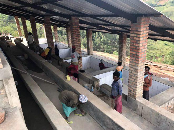 Tiled fermentation tanks of Umurage