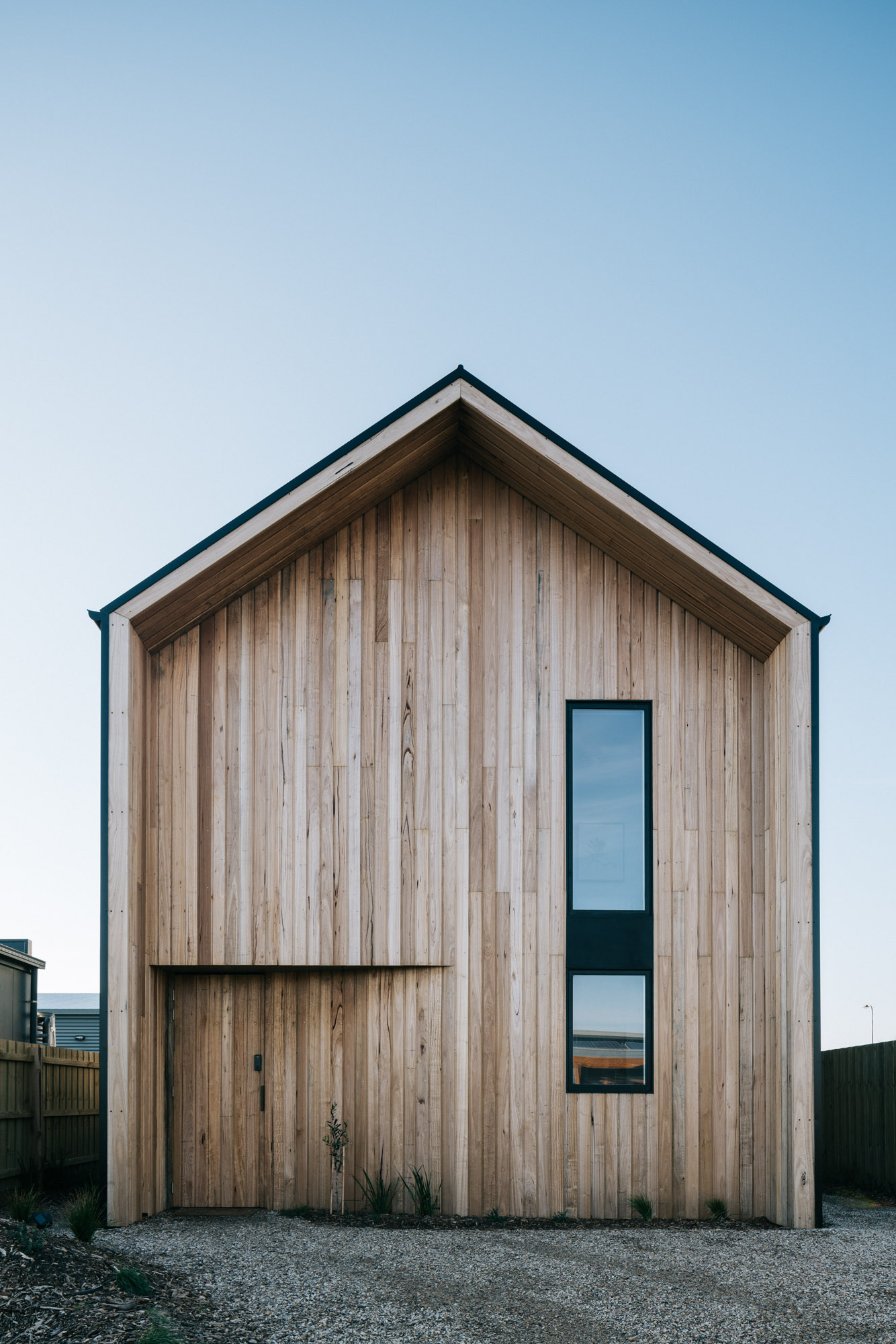 Origins-Guide-Cape-Paterson-Accommodation-The-bungalow-exterior-timber-clad-scando-look
