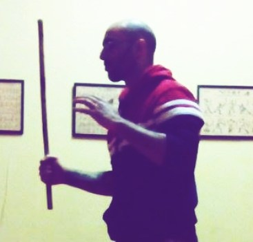 Eskrima hands position