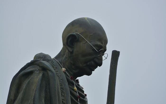 A Statue of Gandhi Has Been Removed From the University of Ghana Following Student Protests