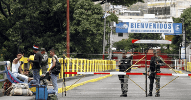 Venezuela Orders Temporary Closure of the Border with Colombia