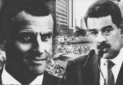 Media's hypocrisy: Mum on despot Macron loud on President Maduro