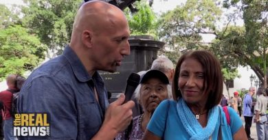In Caracas, Ordinary Venezuelans Speak to The Real News About Venezuela's Crisis (Vídeo)