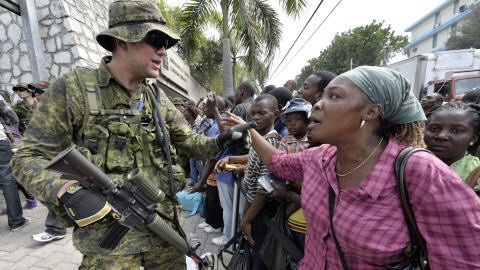 Canada backs Haitian government, even as police force kills demonstrators