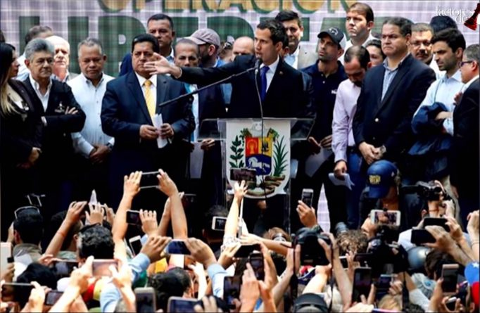 "Guaidó Announces the Sixth ""D-day"" in Venezuela as his Support Within the Opposition Wanes"