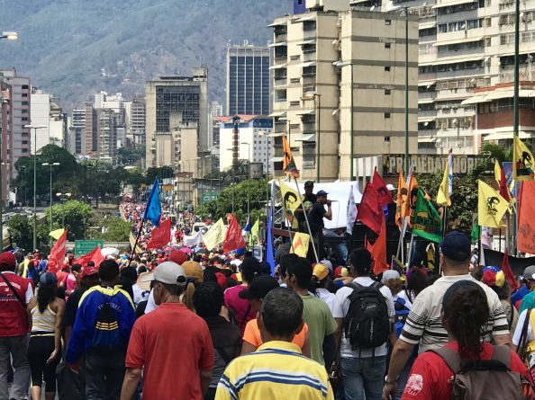 Chavismo Took Caracas Again - Operation Defense of Freedom (Images+Videos)