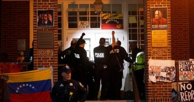 (UPDATES) ALERT: US Regime about to Illegally Evict the Protectors - Support the Venezuelan Embassy Protectors! (Video)