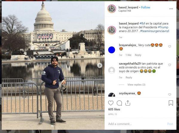 Luis-Medina-Instagram-Trump-inauguration