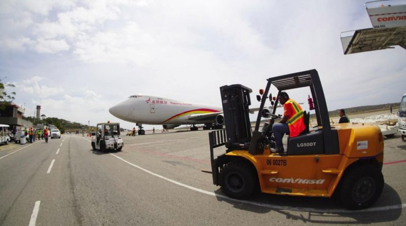 Another 69 Tons of Medicines Arrive in Venezuela From China