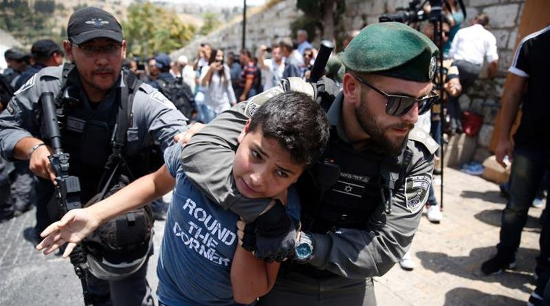 """Israel"" Arrested 900 in Jerusalem, One Third are Children"