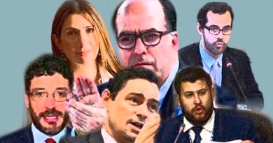 Five Men and one Woman are the US Proxies in the Gringo Blockade Against Venezuela
