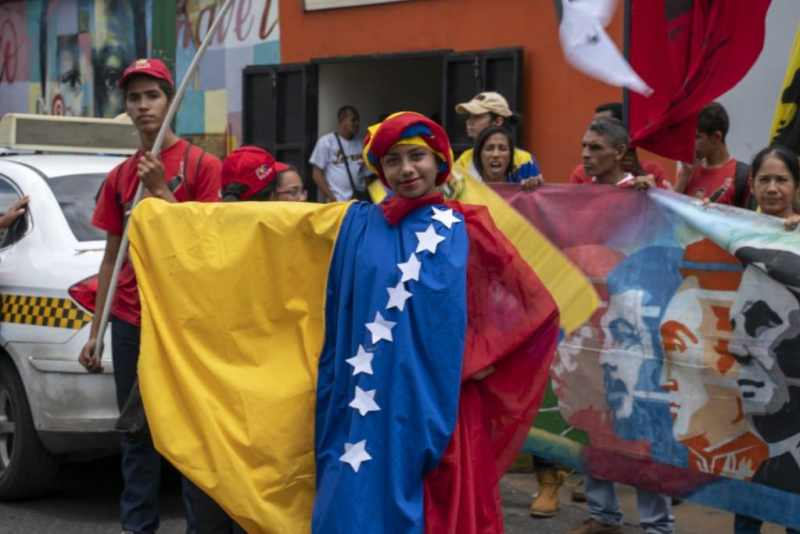 Venezuela-no-more-Trump-protest-flag-dress.jpg