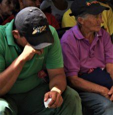 Tears were shed at the event.(Katrina Kozarek / Venezuelanalysis.com)