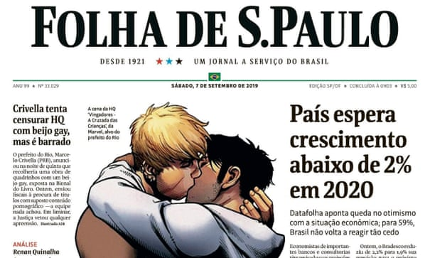 Brazil: Gay Kiss Between Superheroes Caused a Mayor to Censor Marvel