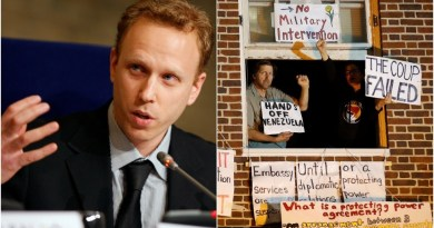 """Political Persecution"": Max Blumenthal Arrested in DC Police Raid, Held for 2 Days on Phony Charges Over Venezuela Embassy Siege"