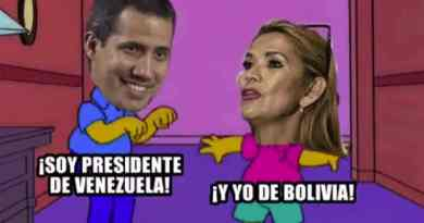 Self-proclaimed Guaido Congratulates the New Self-proclaimed in Bolivia: Believe it or Not