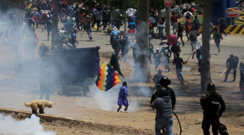 Massacre in Cochabamba Leaves 7 Coca Syndicalists Dead