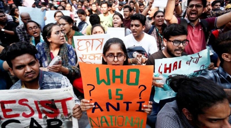 India Police Storm Universities to Break Citizenship Law Protests