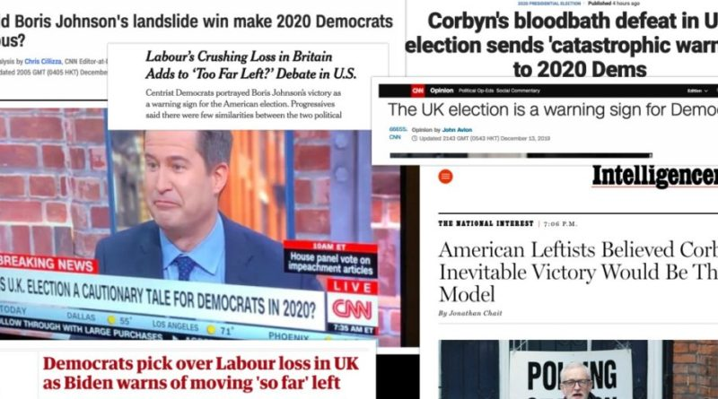 Corporate Media Find All the Wrong Lessons for US Left in Corbyn's Defeat