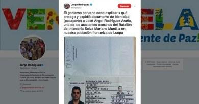 Venezuela Questions Peru Over Identity Protection for Border Attack Perpetrator