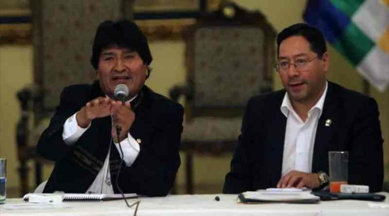 Evo Morales Announces Luis Arce as MAS Presidential Candidate