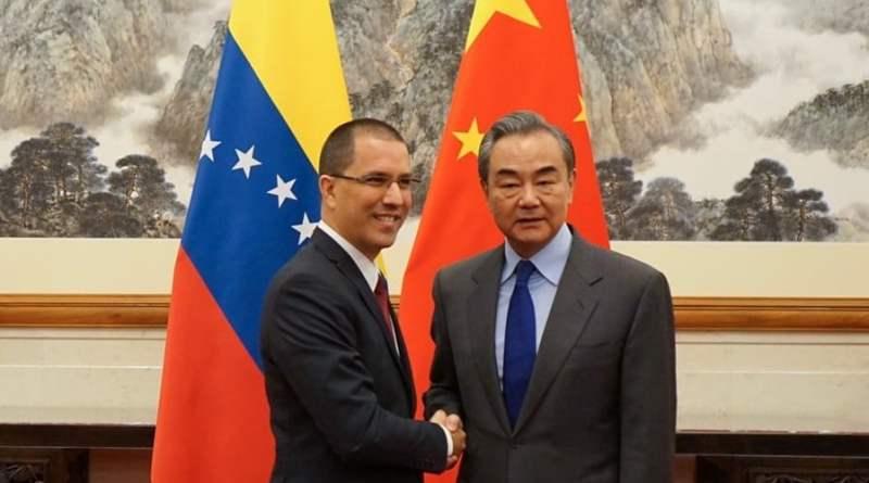 Venezuela and China Strengthen Bilateral Relations  (Arreaza -  Qishan Meeting)