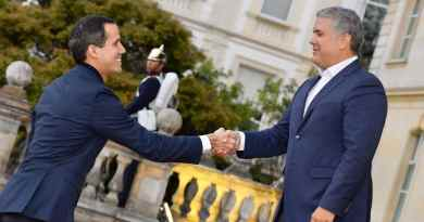 Guaido Confirmed he is in Colombia in Violation of Travel Ban