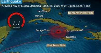 Magnitude 7.7 Earthquake Hits Cuba, Jamaica (First Videos)