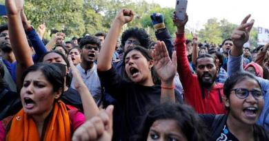 Not an Inch: Indian Students Stand Against the Far-Right