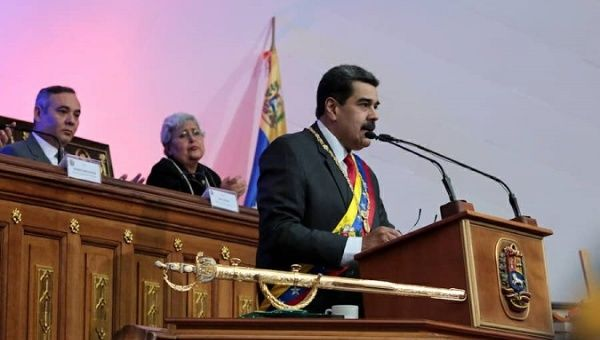 """""""The US Did Not Consider the Venezuelan People's Strength"""": Maduro"""