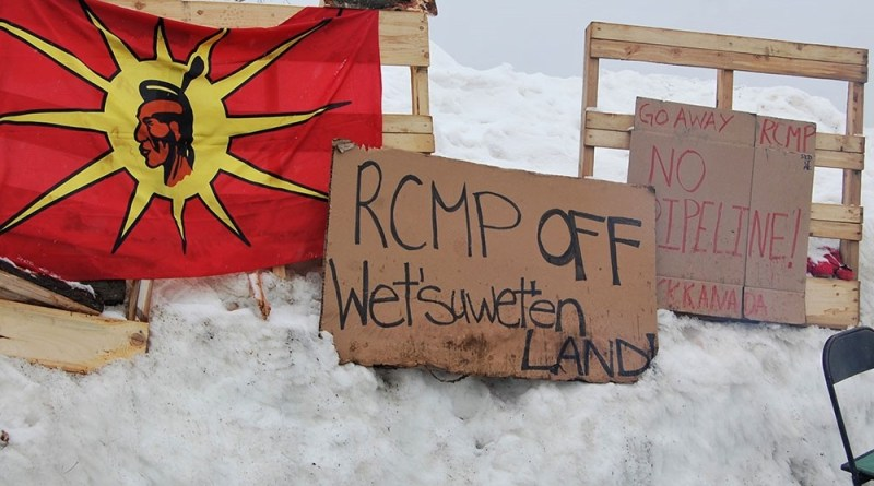 In Defense of Mother Earth: Indigenous Rights Are Human Rights! RCMP Out of Wet'suwet'en!