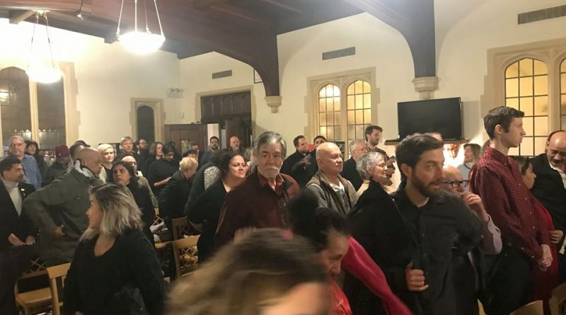 Palestine Bids Farewell to Comrade Richard Reilly in Chicago