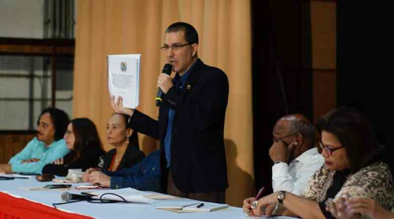 Foreign Minister Jorge Arreaza Responds to US sanctions Against Rosneft: New Crimes Against Humanity Used Against the Venezuelan People (Video)