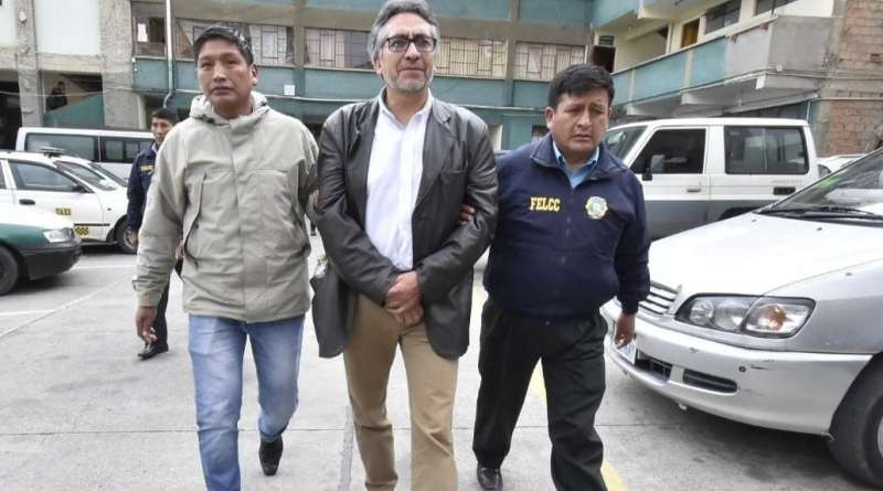 Coup government in Bolivia arrests another MAS legislator