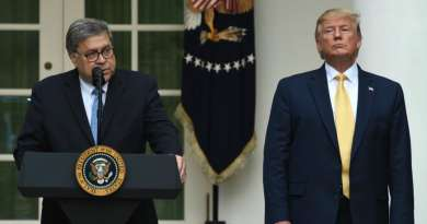 More Than 1,100 Former US Department of Justice Officials Tell William Barr: Resign Now! '