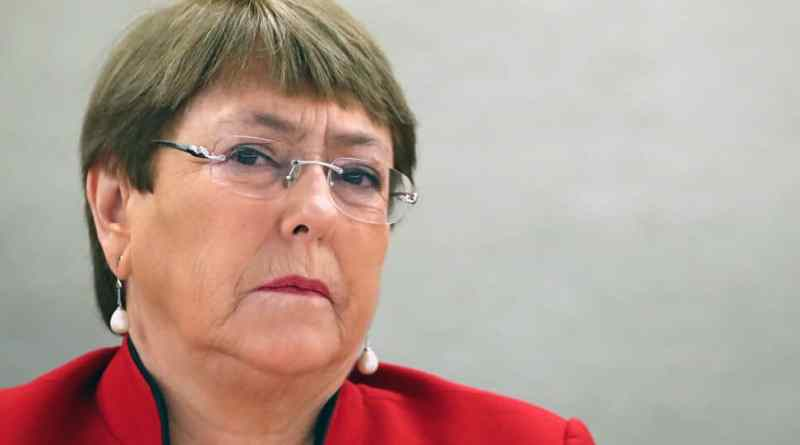 "Bachelet is ""Morally Incapable"" of  Talking About Venezuela"