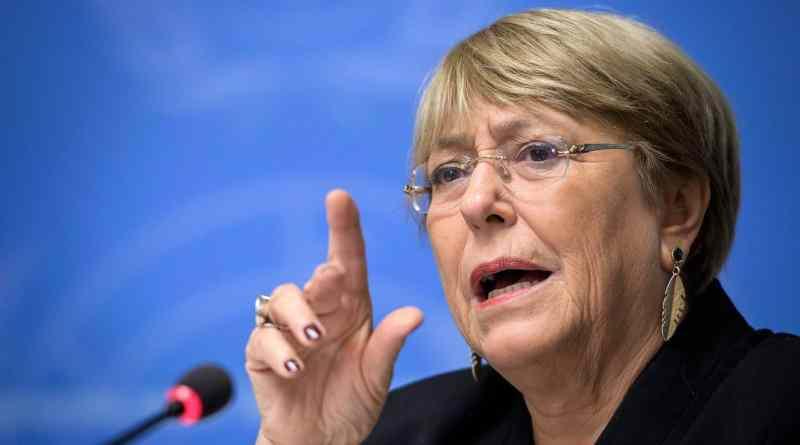 Bachelet Calls for Suspension of Economic Sanctions Against Venezuela, Cuba, North Korea, Myanmar and Zimbabwe